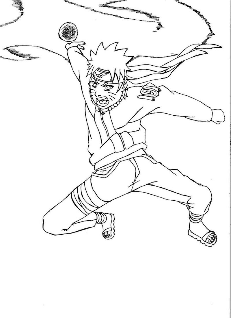 Anime Naruto Attack