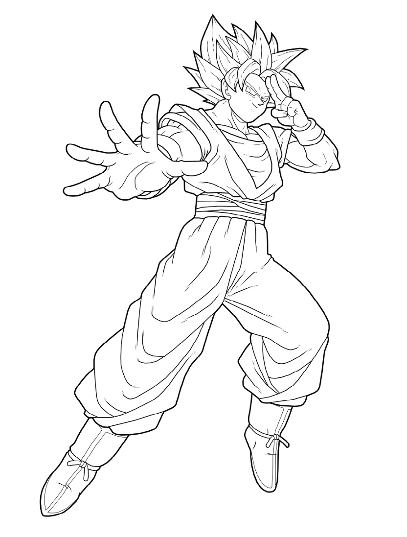 Awsome Son Goku