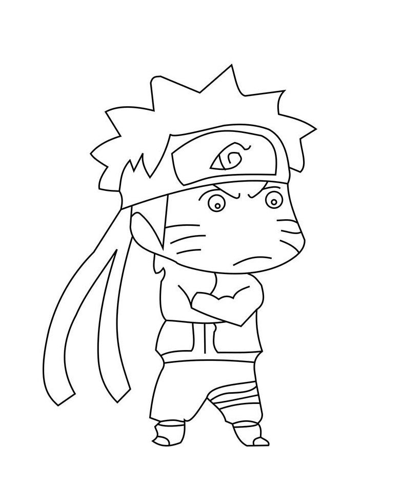Baby Naruto is Sad