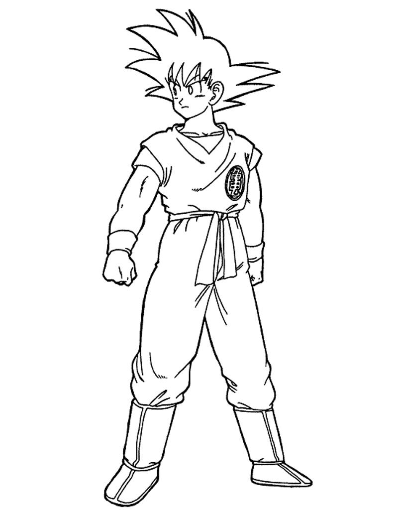 Cool Son Goku