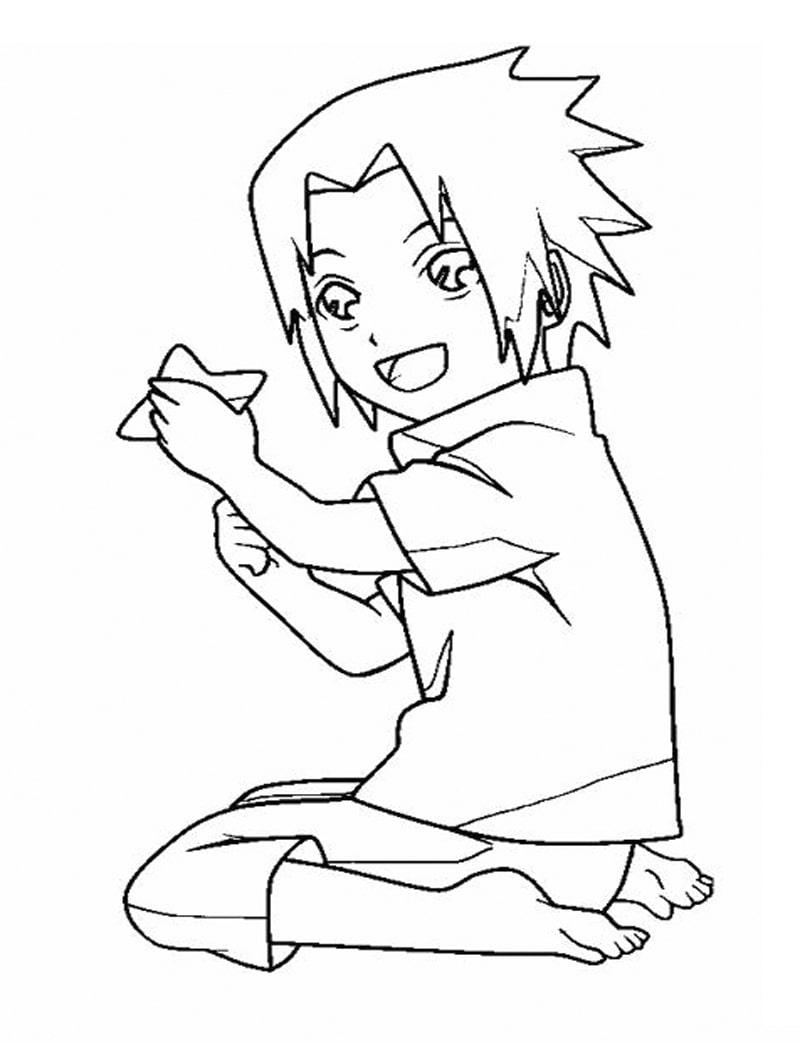 Cute Baby Sasuke Uchiha