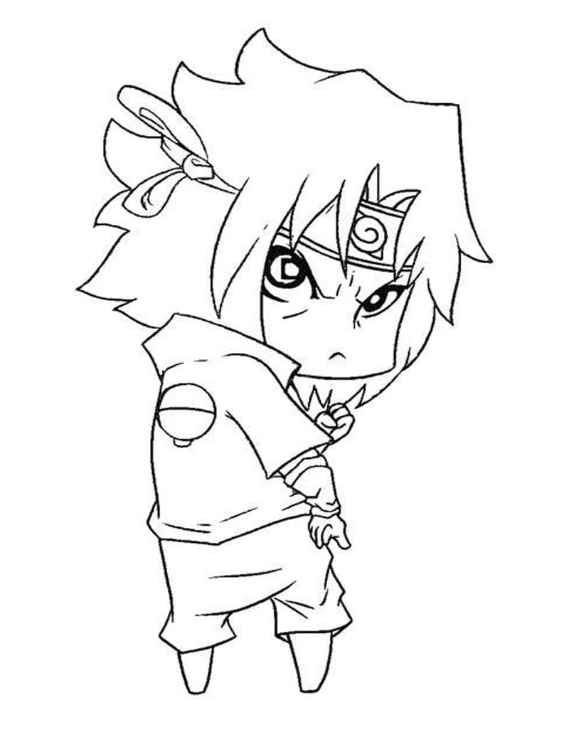 Cute Baby Sasuke