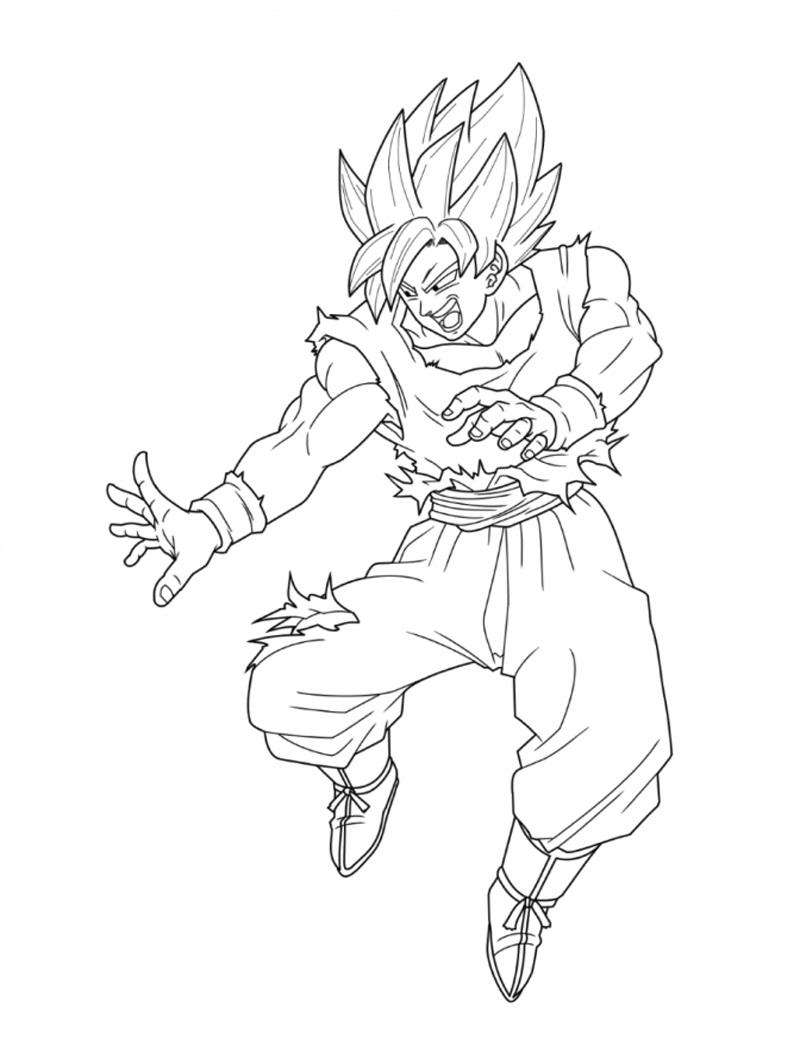 Goku Attack