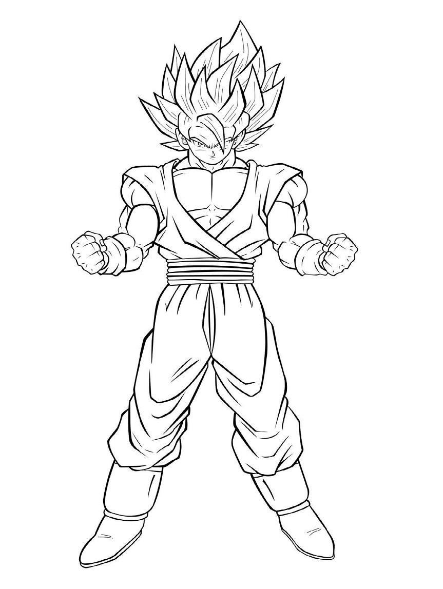 Goku in DBZ