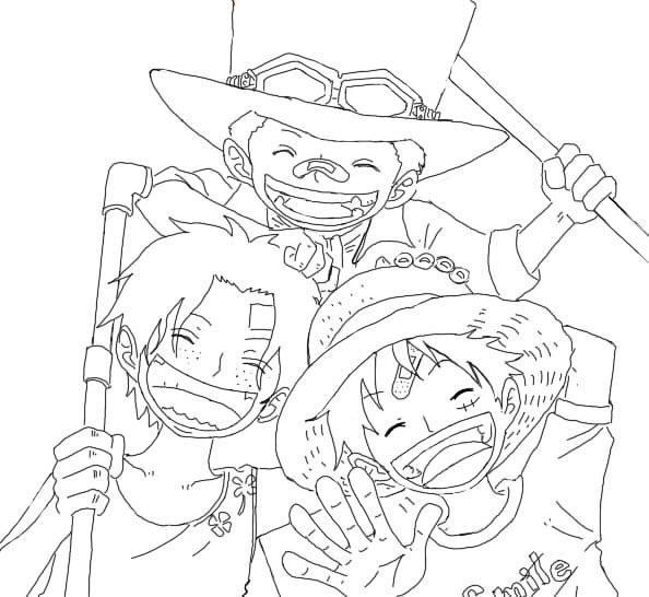 Happy Luffy