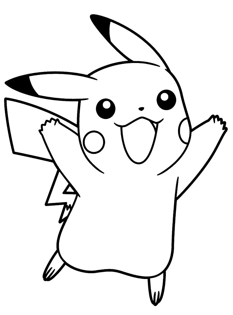 Happy Pikachu 4