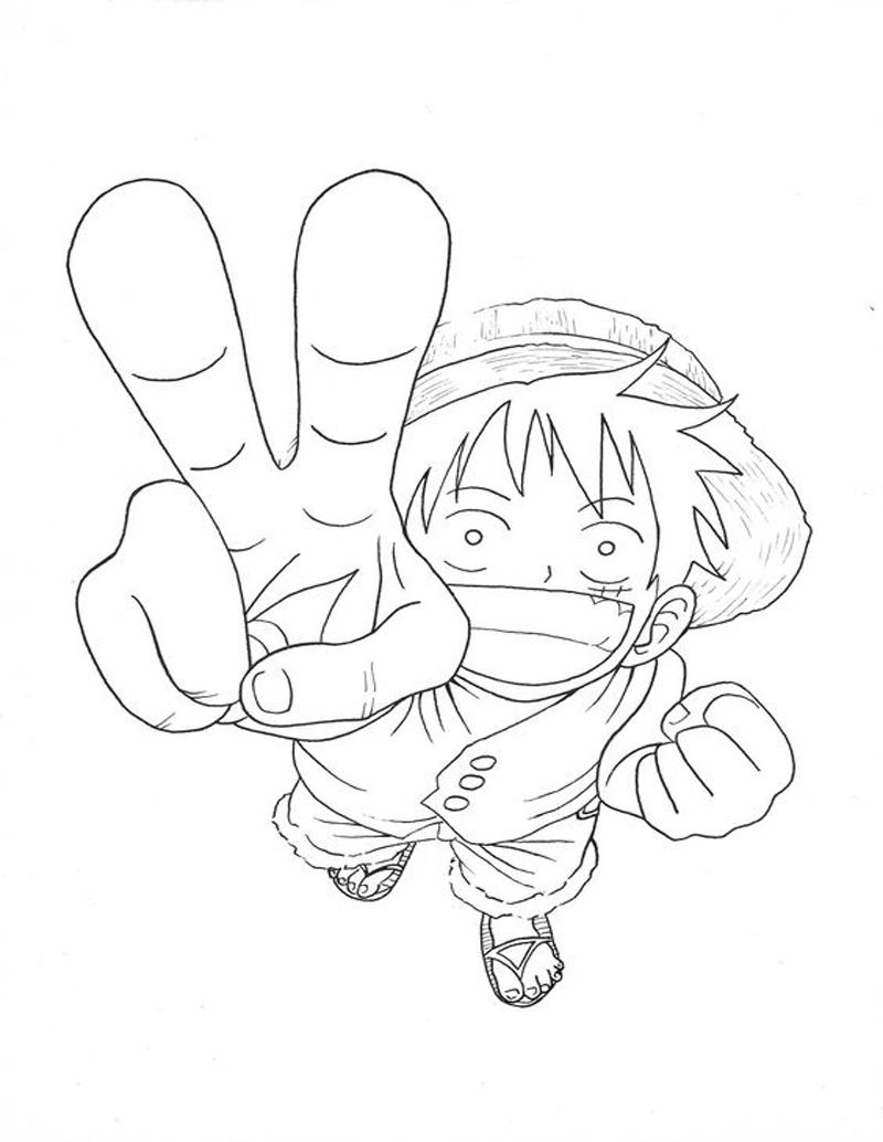 Luffy Attack 3