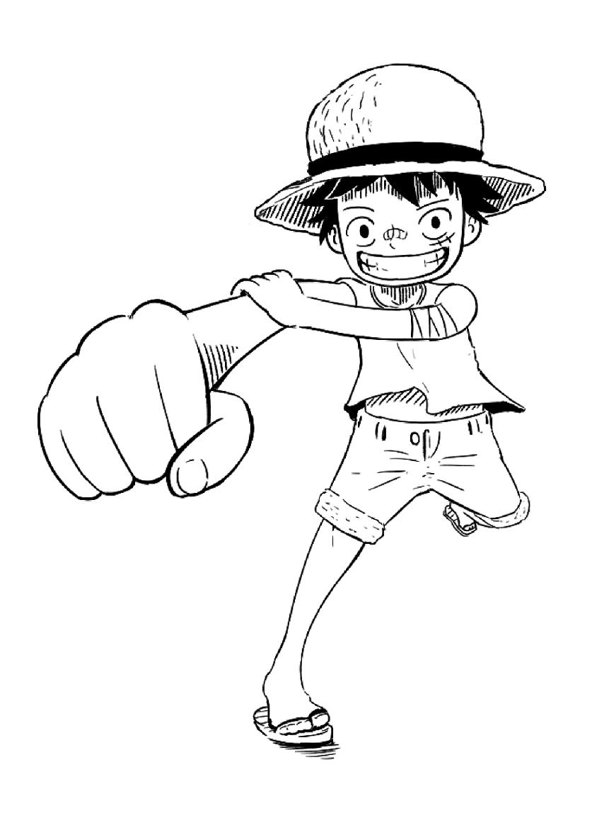 Luffy Attack 4