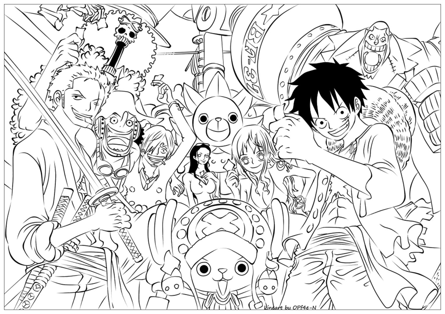 Luffy in One Piece 3