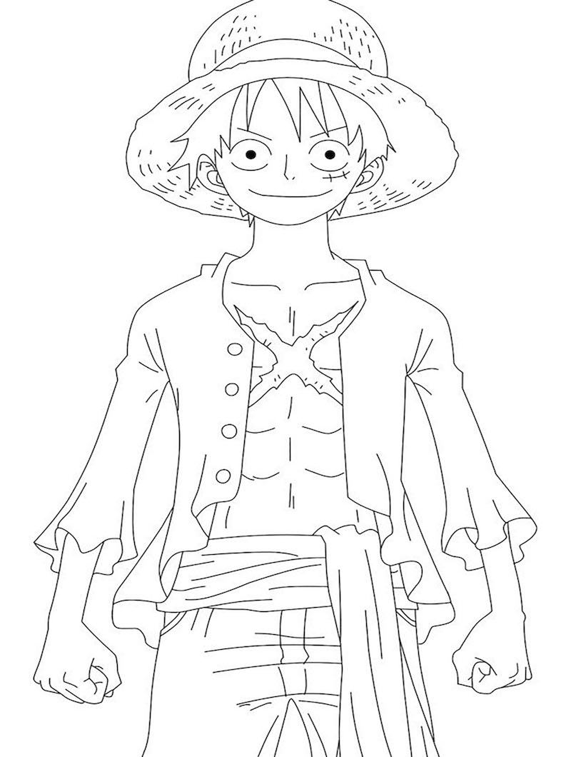 Luffy in One Piece