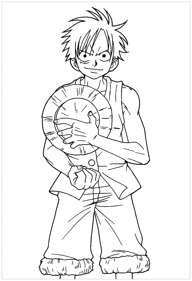 Luffy Take Off His Hat