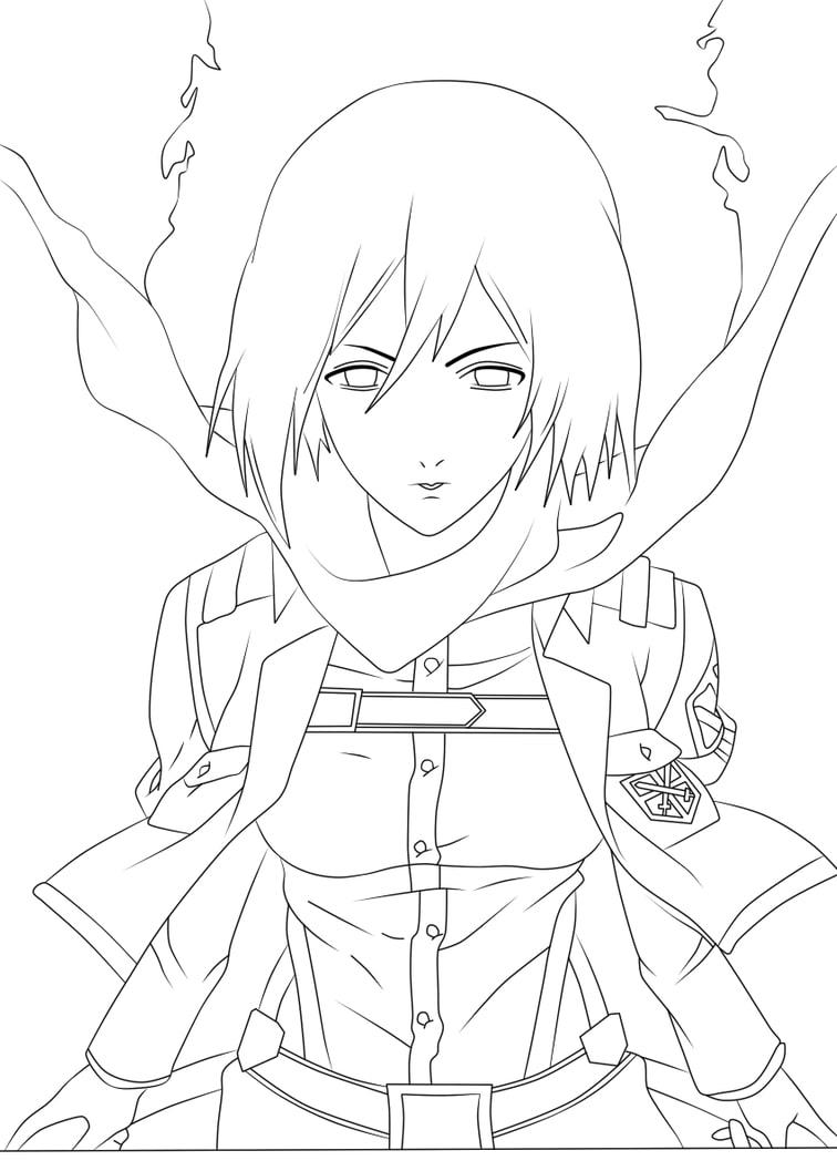Mikasa Ackerman 3