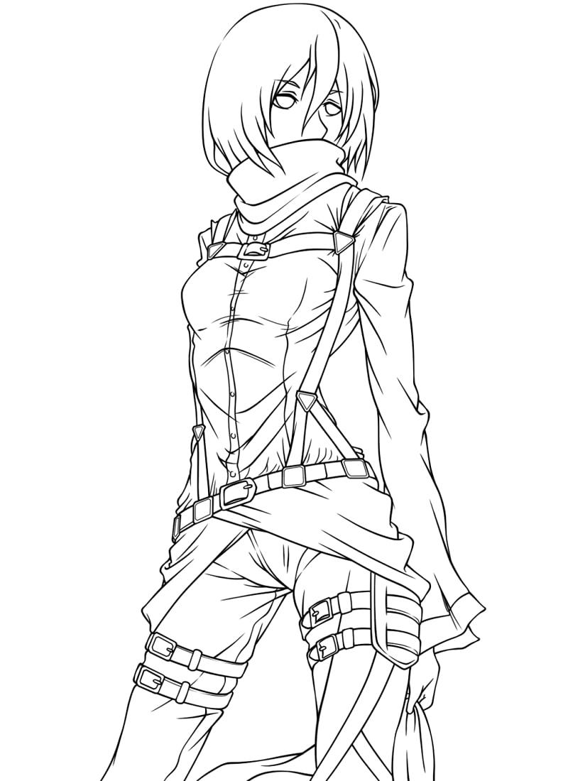 Mikasa Ackerman 4