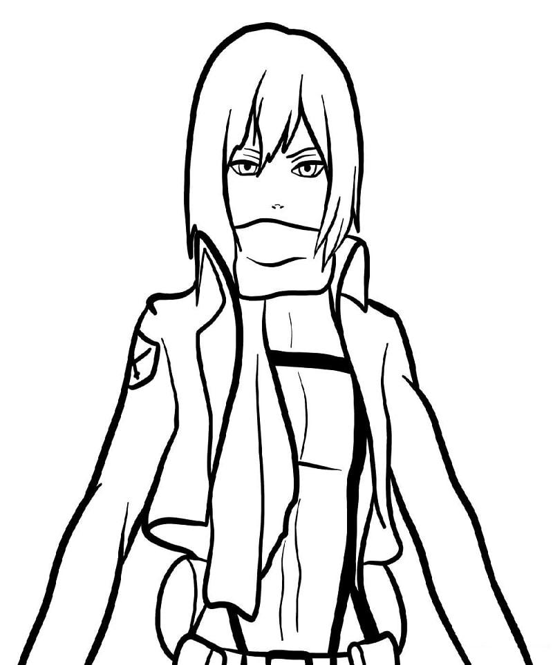 Mikasa Ackerman 8