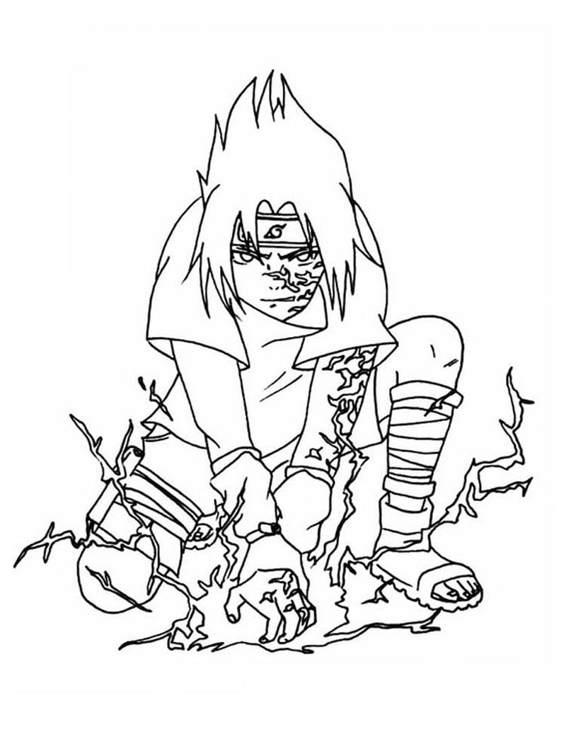 Naruto Sasuke Uchiha 3