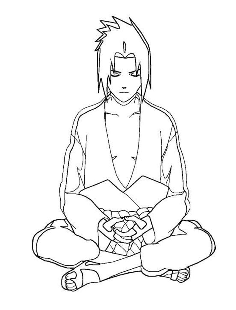 Naruto Sasuke Uchiha 2