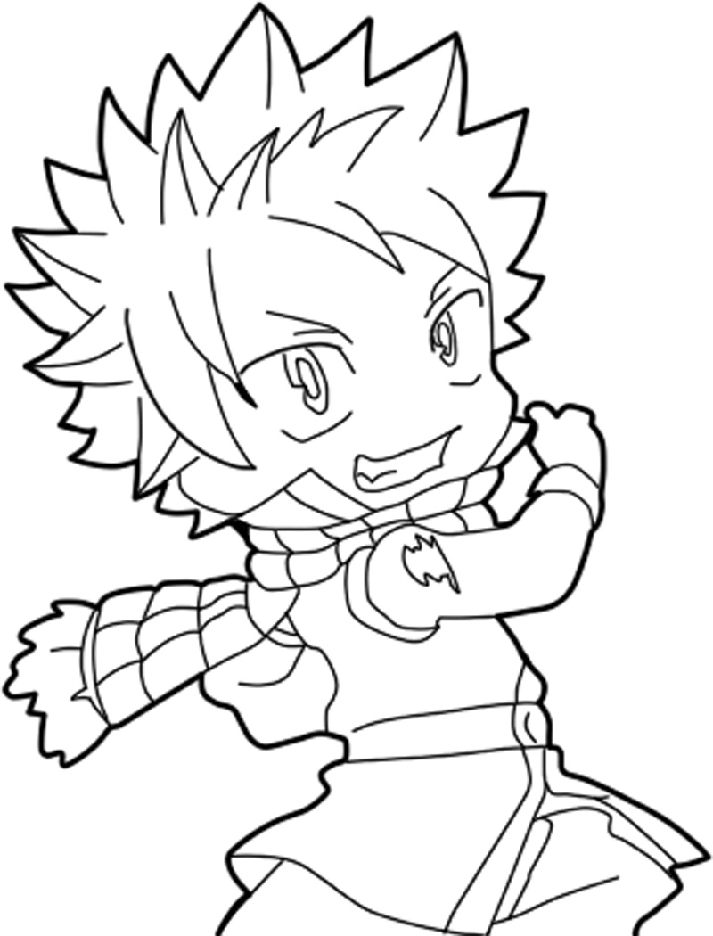 Natsu from Fairy Tail