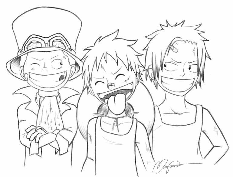 Naughty Luffy