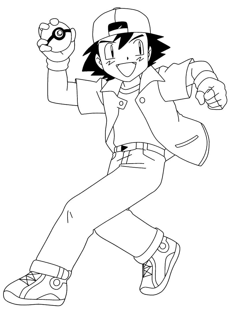 Pokemon Ash Ketchum 2