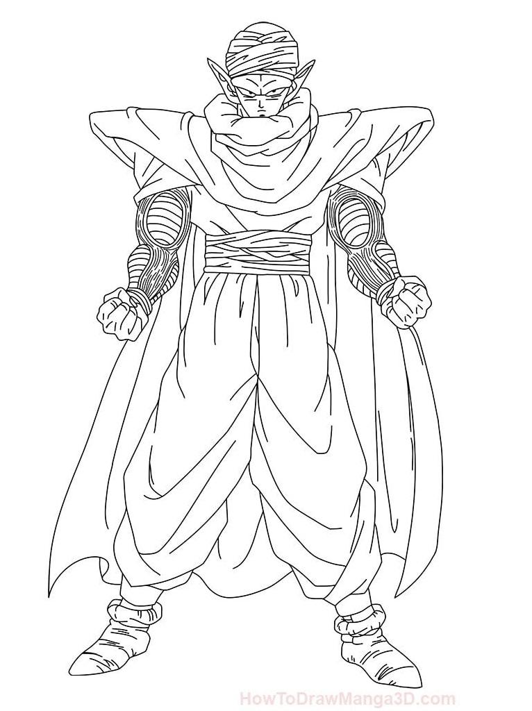 Powerful Piccolo in DBZ