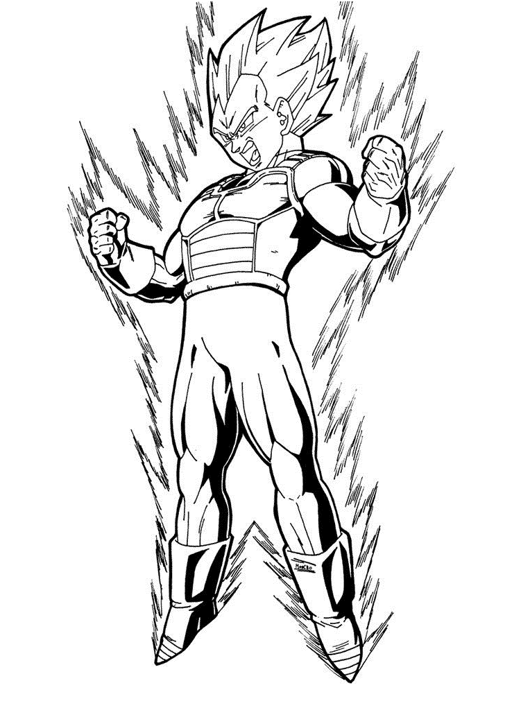 Powerful Vegeta 2