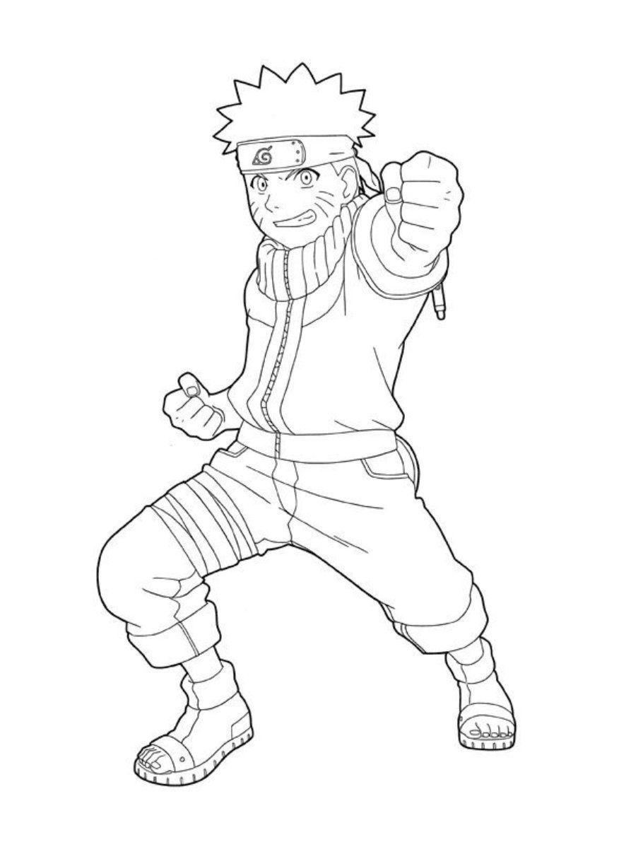 Printable Naruto
