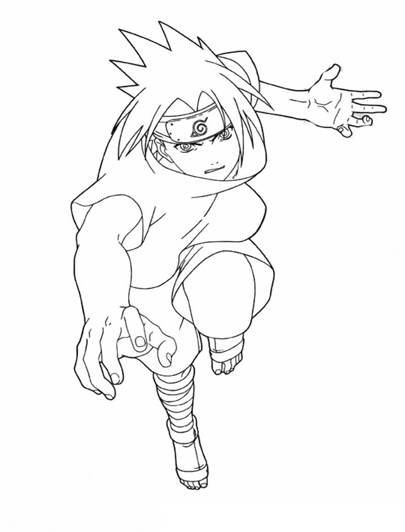 Sasuke Running
