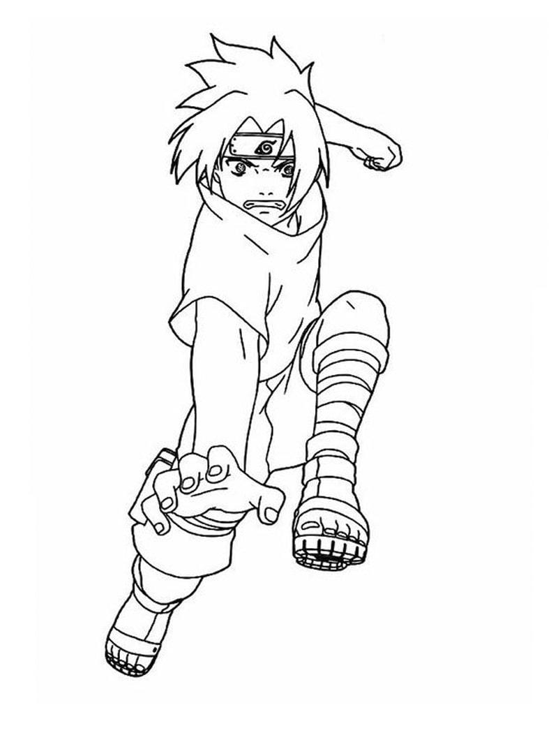 Sasuke Uchiha Attack