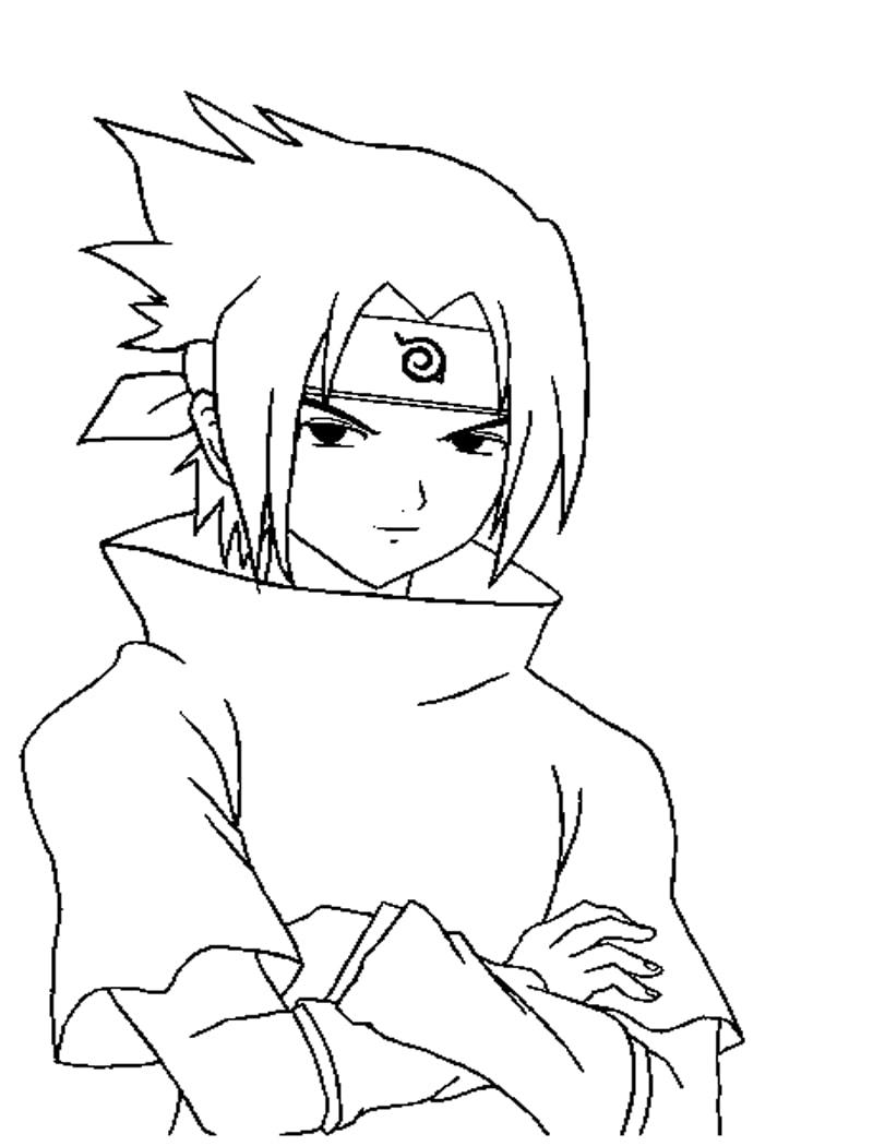 Sasuke Uchiha from Naruto 2