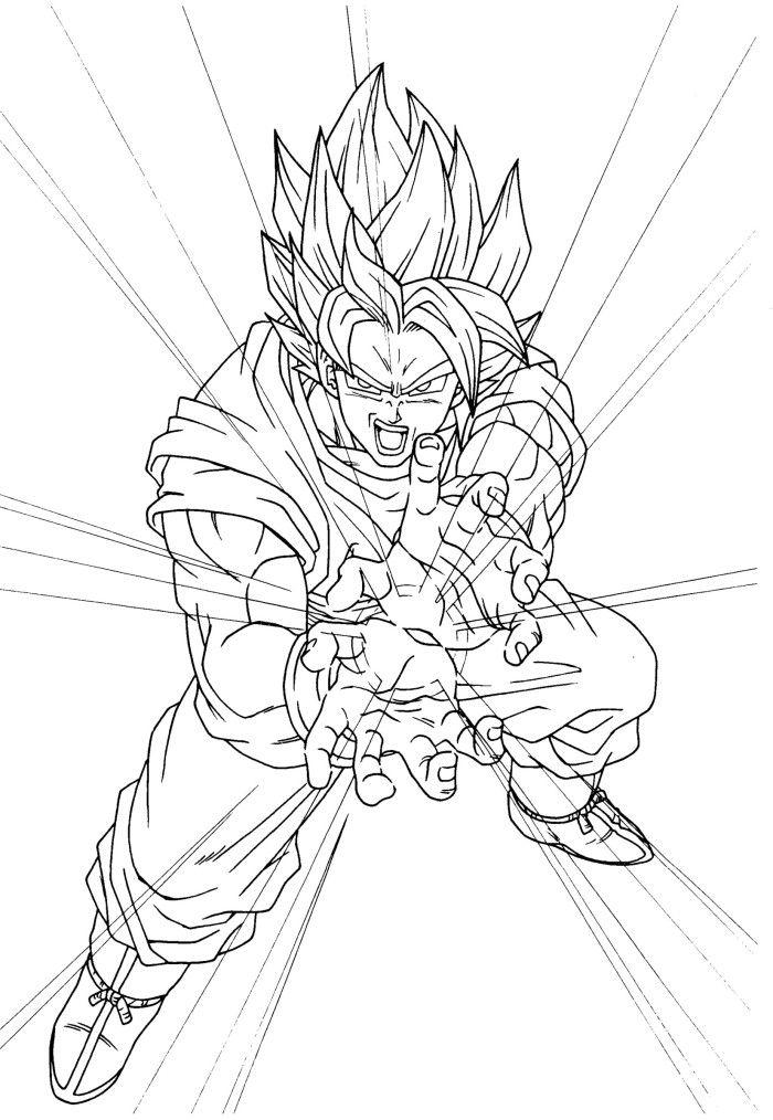 Son Goku Attack