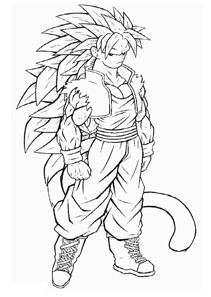 Son Goku in DBZ