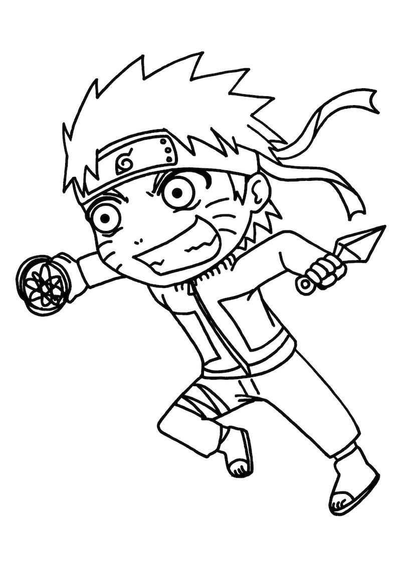 Strong Baby Naruto