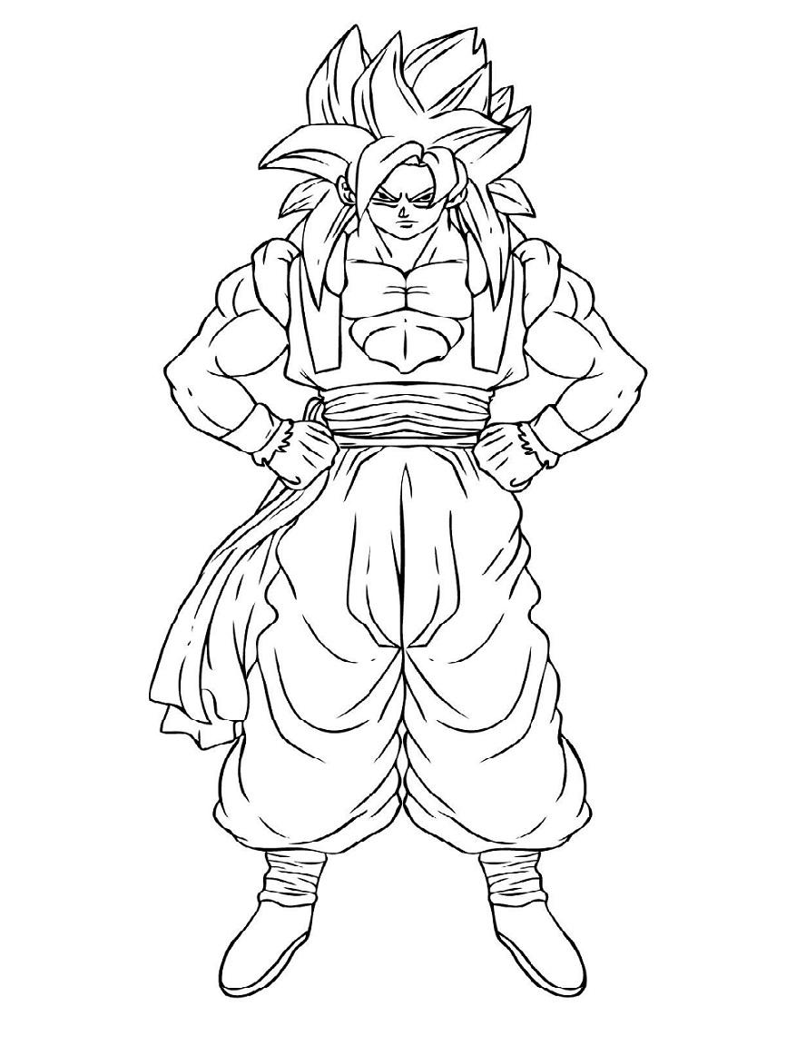 Strong Goku