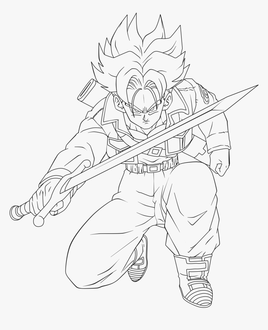 Trunks Attack