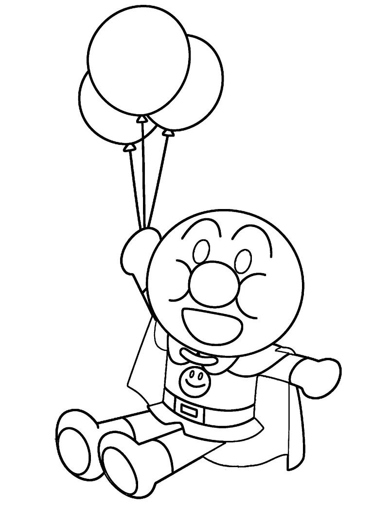 Anpanman with Balloons