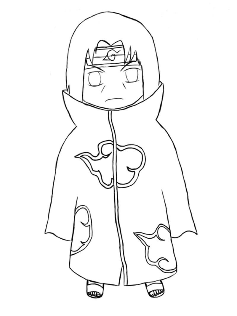 Baby Itachi Uchiha