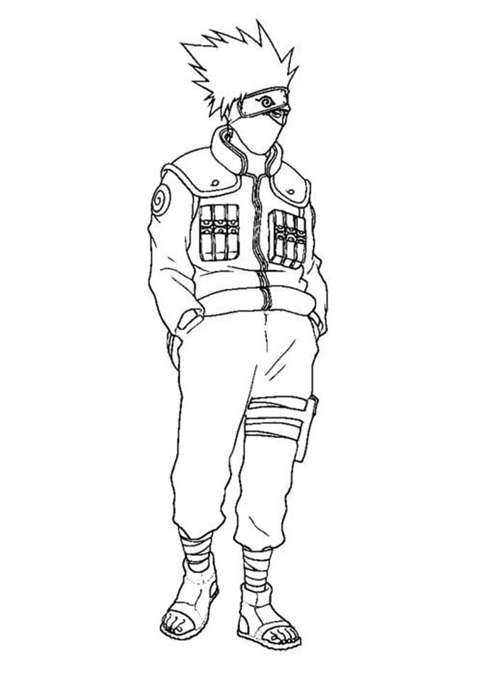 Cool Hatake Kakashi