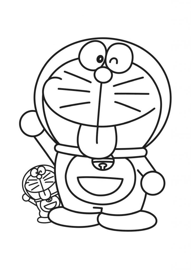 Printable Doraemon Coloring Pages