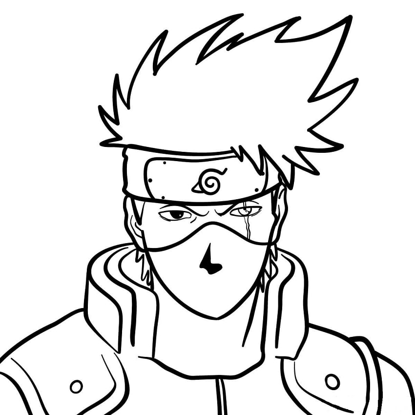 Hatake Kakashi with Mask