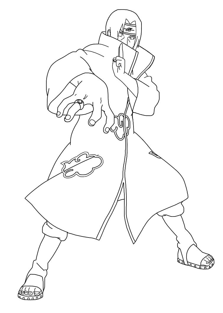 Itachi Uchiha Attack