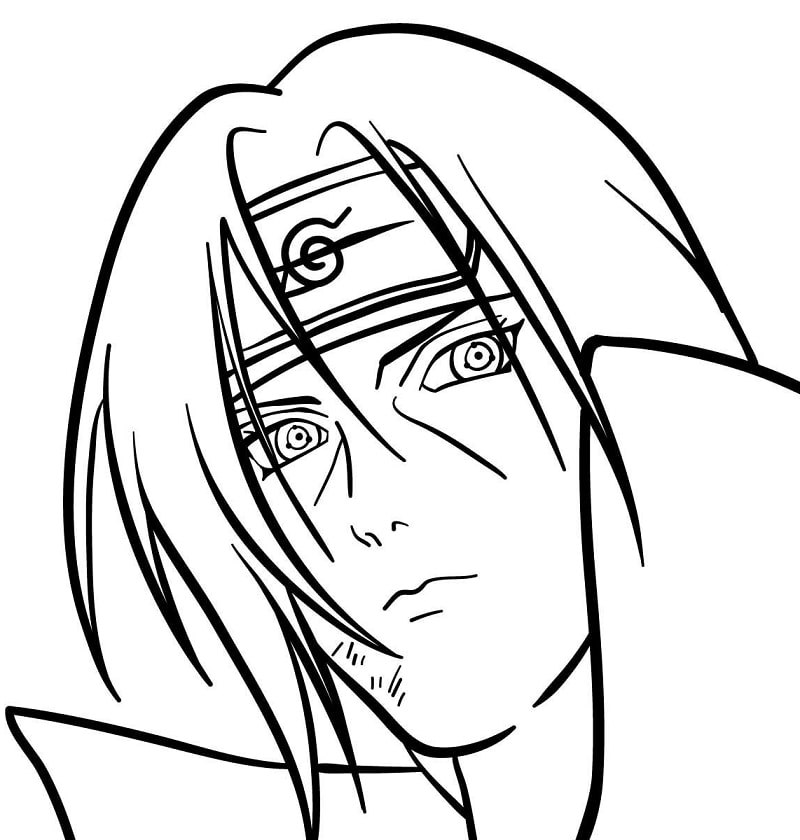 Itachi Uchiha's Face