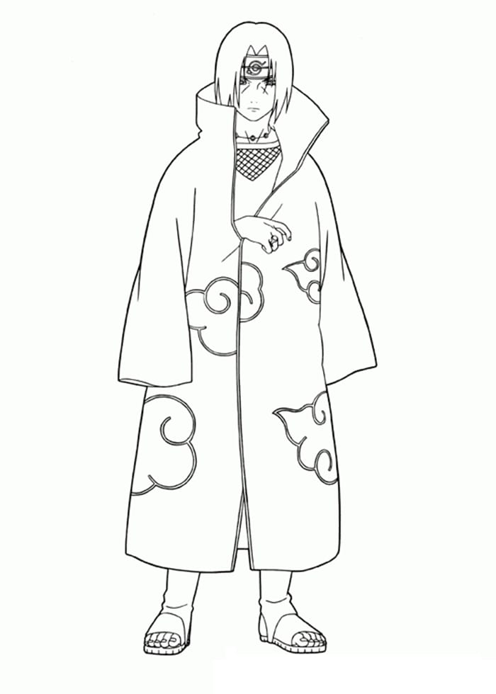 Itachi Uchiha Wearing a Nice Coat