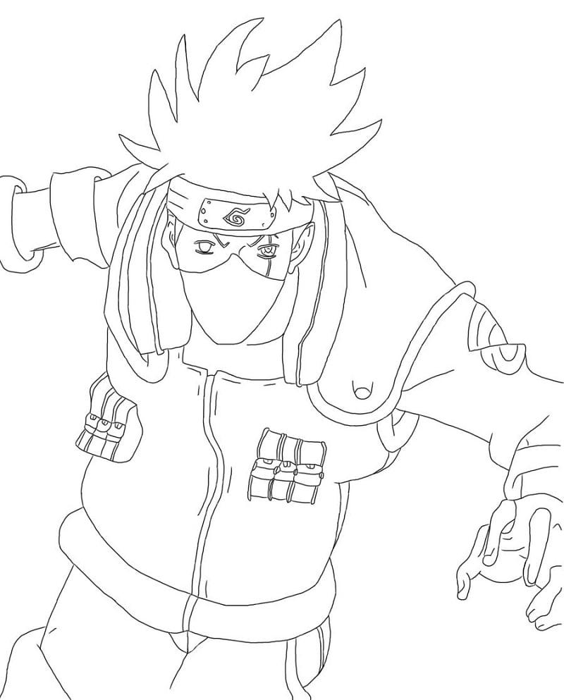 Naruto Hatake Kakashi 3