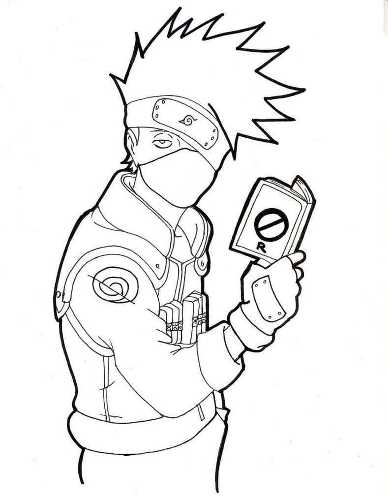 Naruto Hatake Kakashi 4