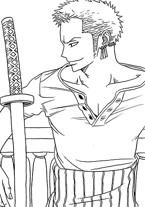 One Piece Roronoa Zoro 2