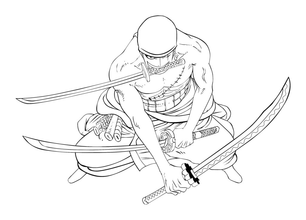 Roronoa Zoro in One Piece