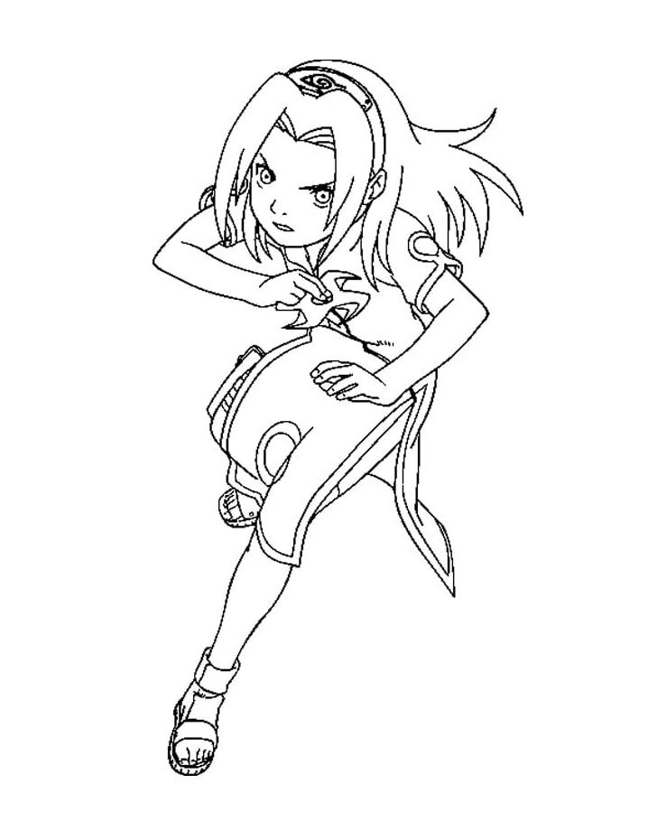 Sakura Haruno Running