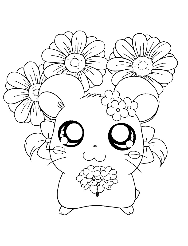 Printable Bijou Coloring Pages