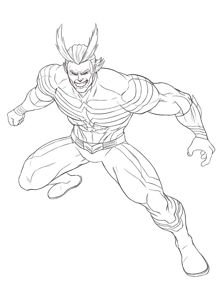 Powerful All Might