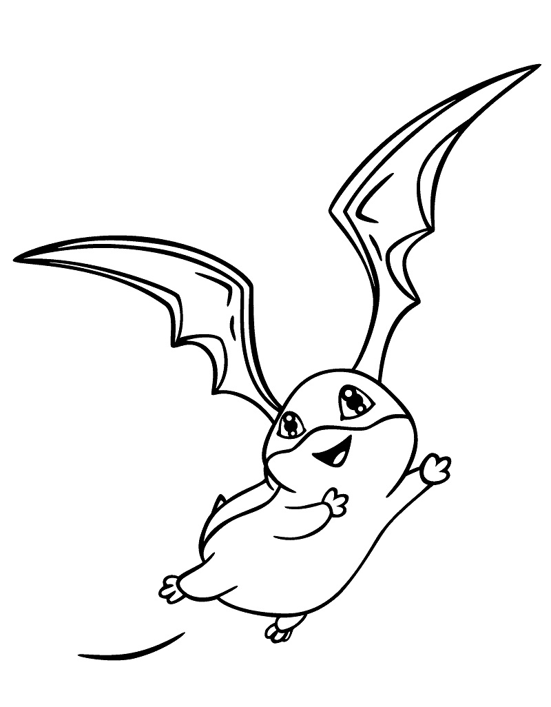 Printable Patamon Coloring Pages